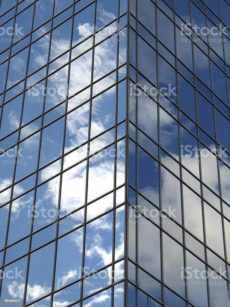 Sky-Bürogebäude Lizenzfreies stock-foto