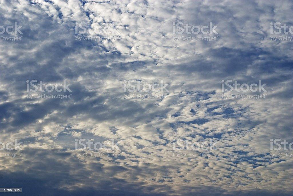 Sky on sunset royalty-free stock photo