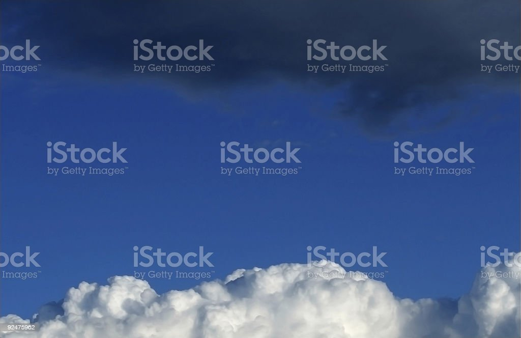 Sky opposition royalty-free stock photo