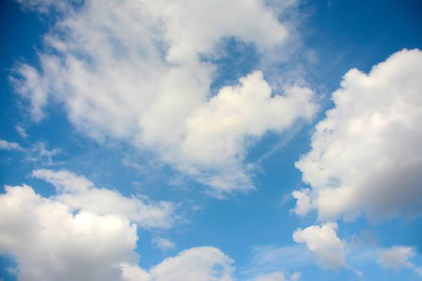 himmel - schrift am himmel stock-fotos und bilder