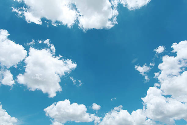 Sky Sky and clouds background directly below stock pictures, royalty-free photos & images
