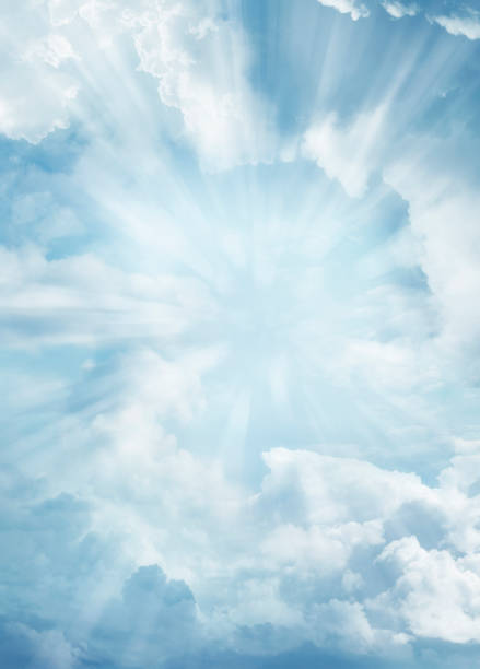 gökyüzü - cennet stok fotoğraflar ve resimler