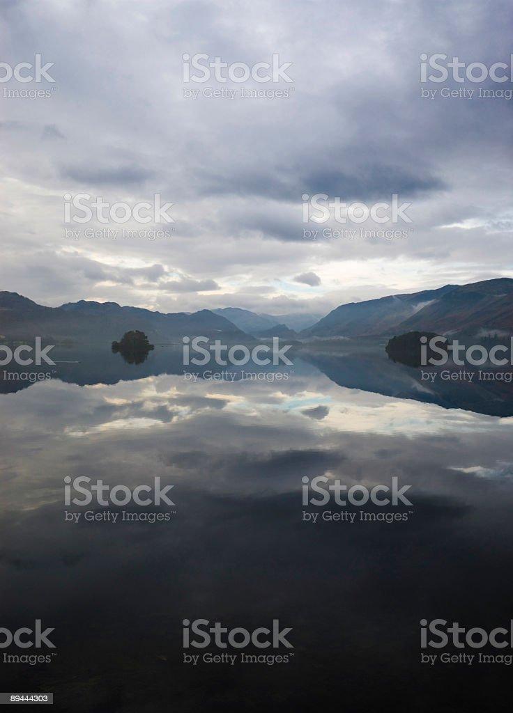 Sky, reflected royalty-free stock photo