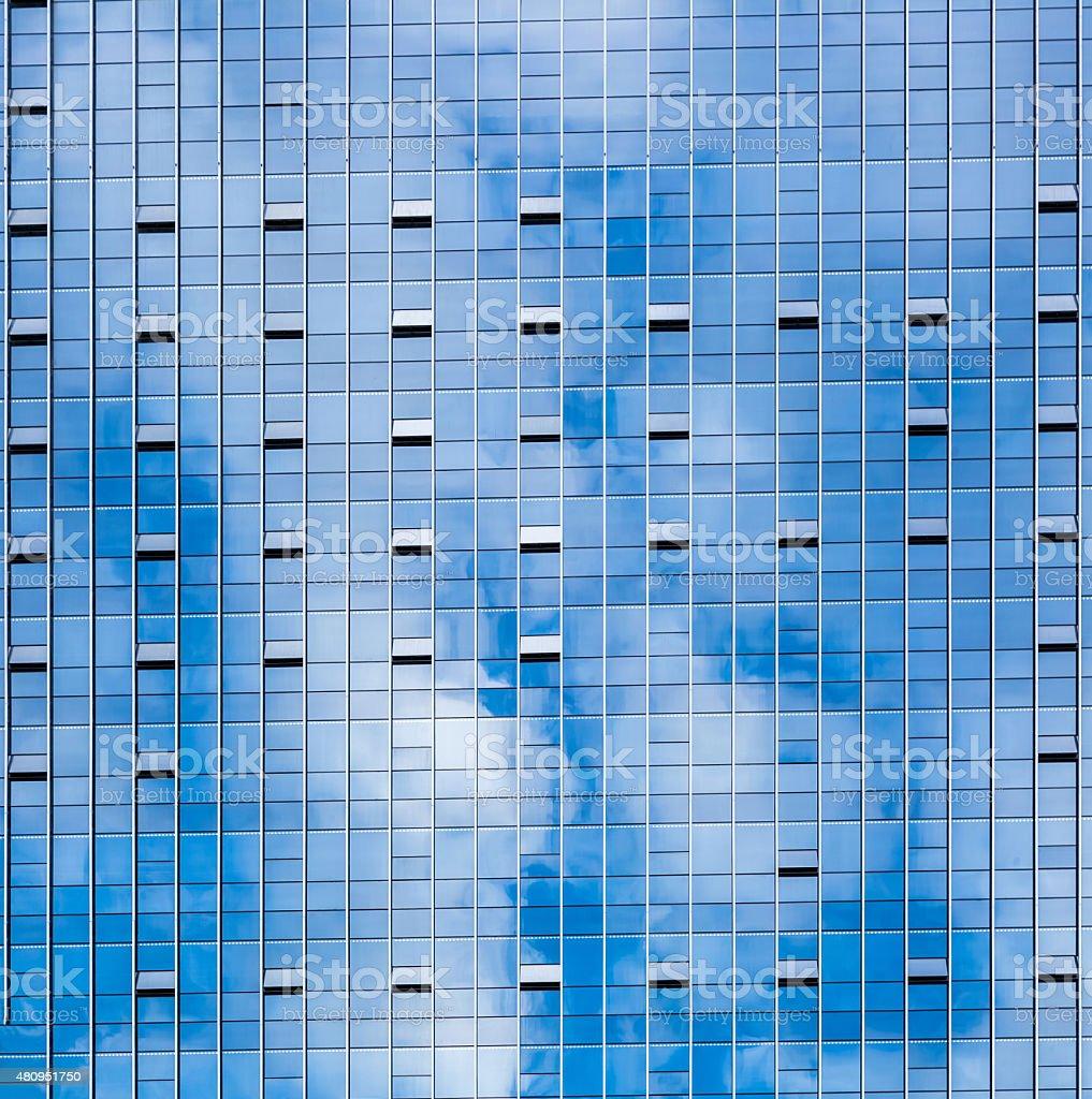 Sky reflection stock photo
