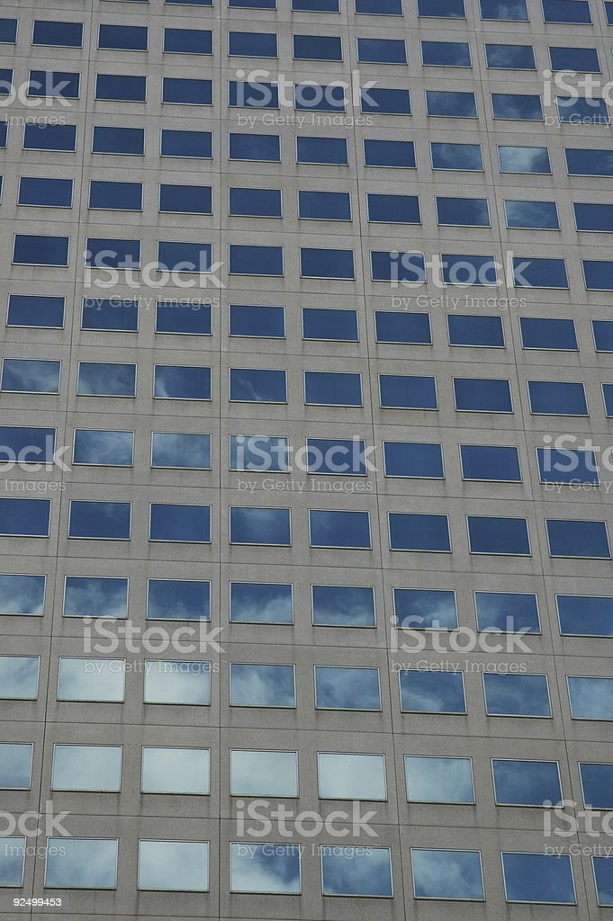 Sky Reflections royalty-free stock photo
