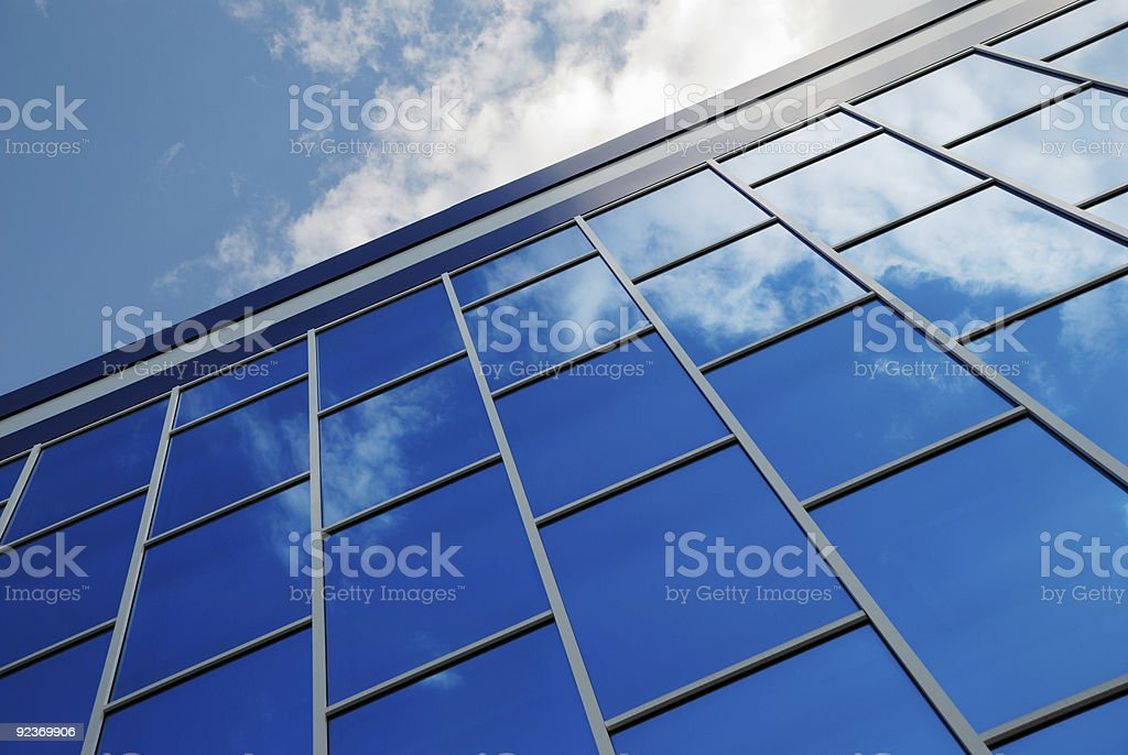 Sky reflexion royalty-free stock photo