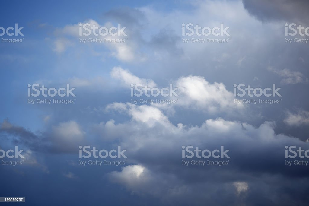 Sky series royalty-free stock photo