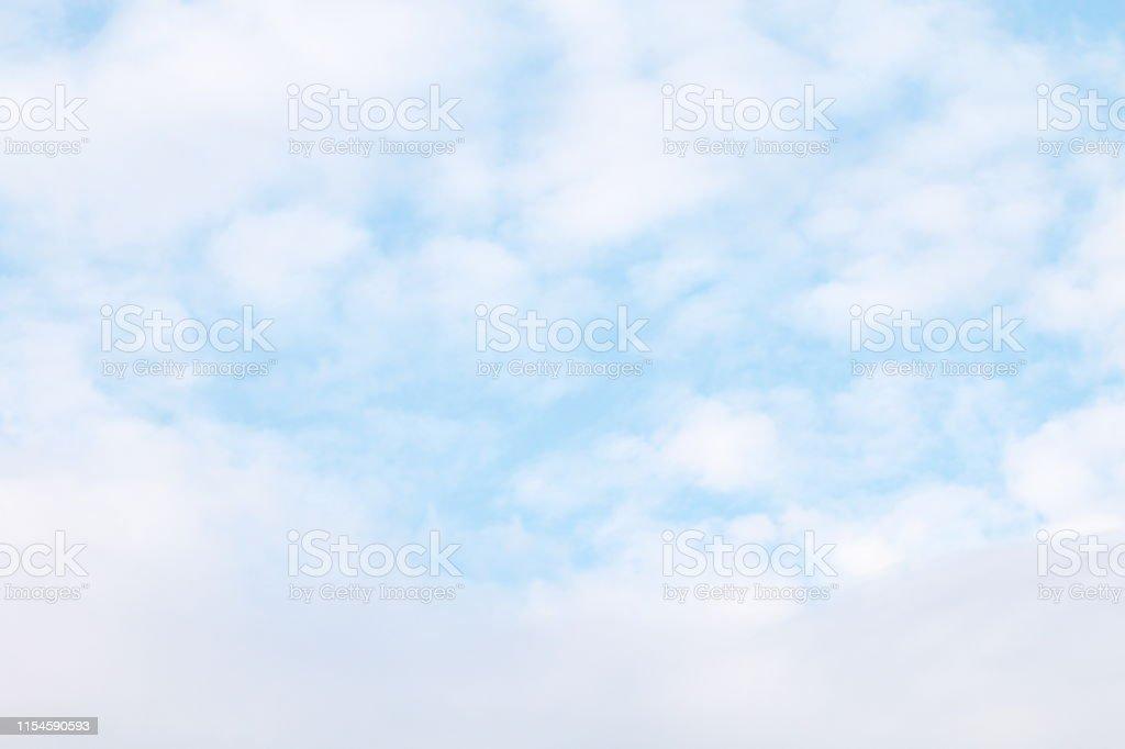 sky, sky blue fluffy clouds white, soft sky cloud background,...