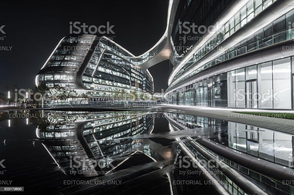 Sky Soho Shanghai stock photo