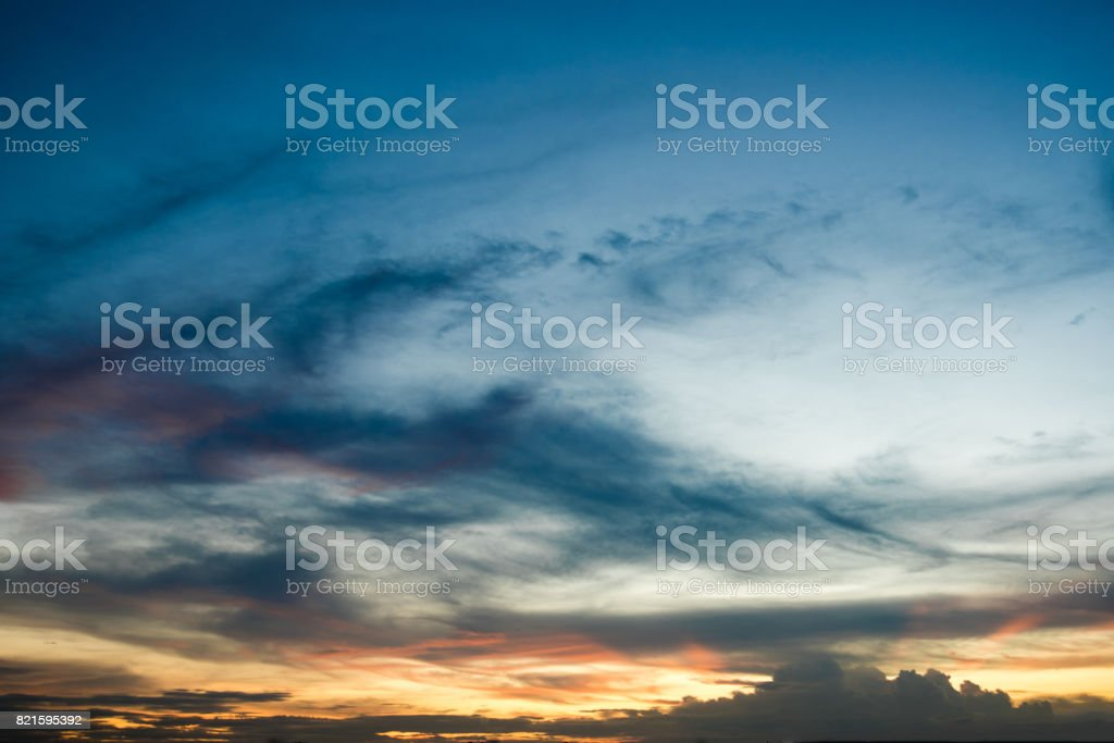 sky sunset background,clouds with background. stock photo