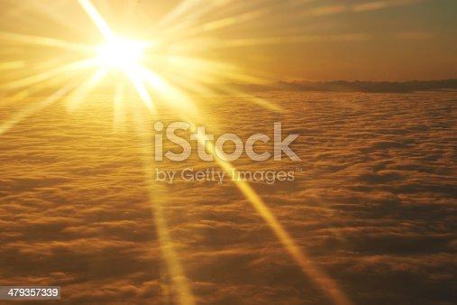 184857129istockphoto Sky, sunset sun and clouds 479357339