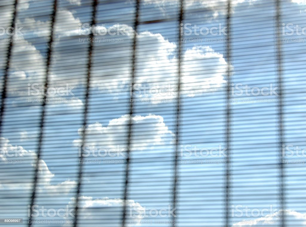 sky throughout rattan royalty-free stock photo