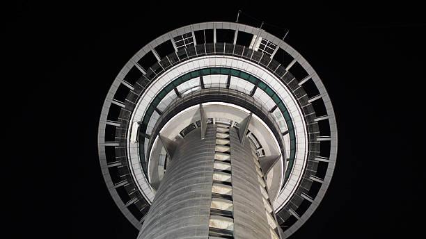 Sky tower Auckland, New Zealand stock photo