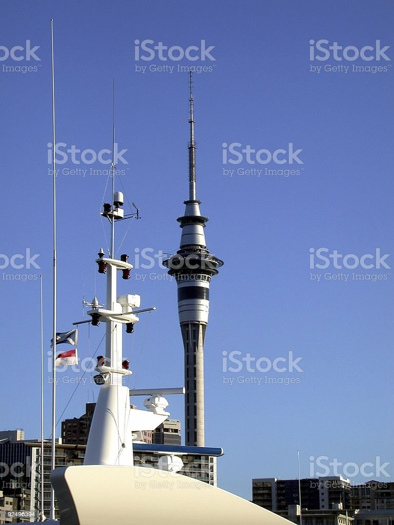 Sky Tower - Auckland royalty-free stock photo