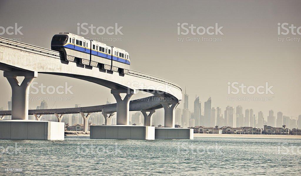 Sky Train royalty-free stock photo