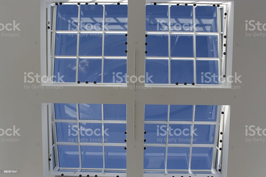 Sky view royalty-free stock photo