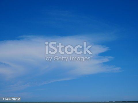 istock Sky with cloud on a sunny day 1146270265