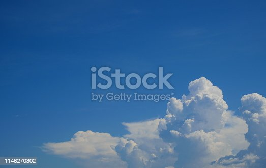 istock Sky with cloud on a sunny day 1146270302