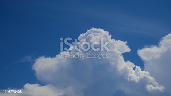 istock Sky with cloud on a sunny day 1146270406