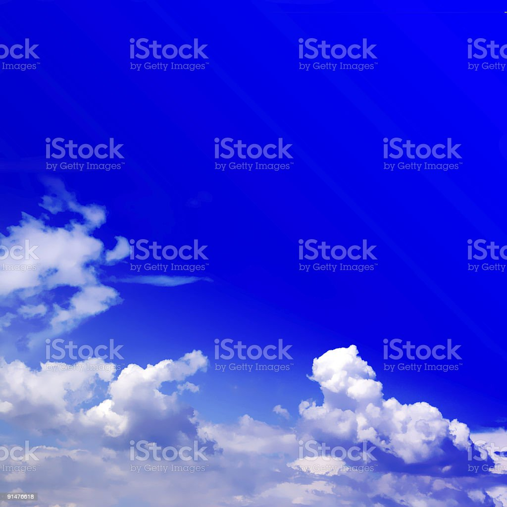 sky with cloud royalty-free stock photo