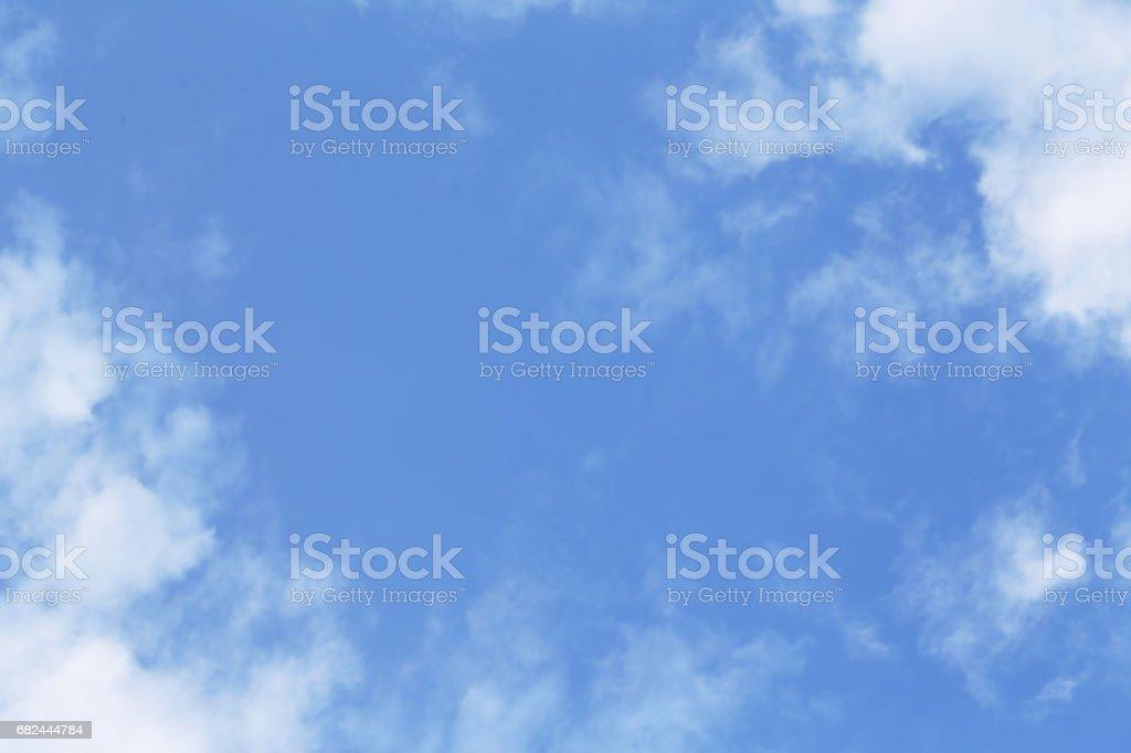 Gökyüzü bulutlu royalty-free stock photo