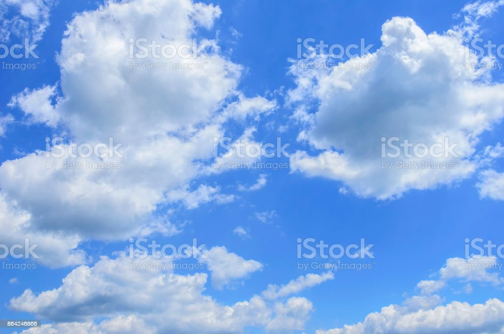Sky with clouds. royalty-free stock photo