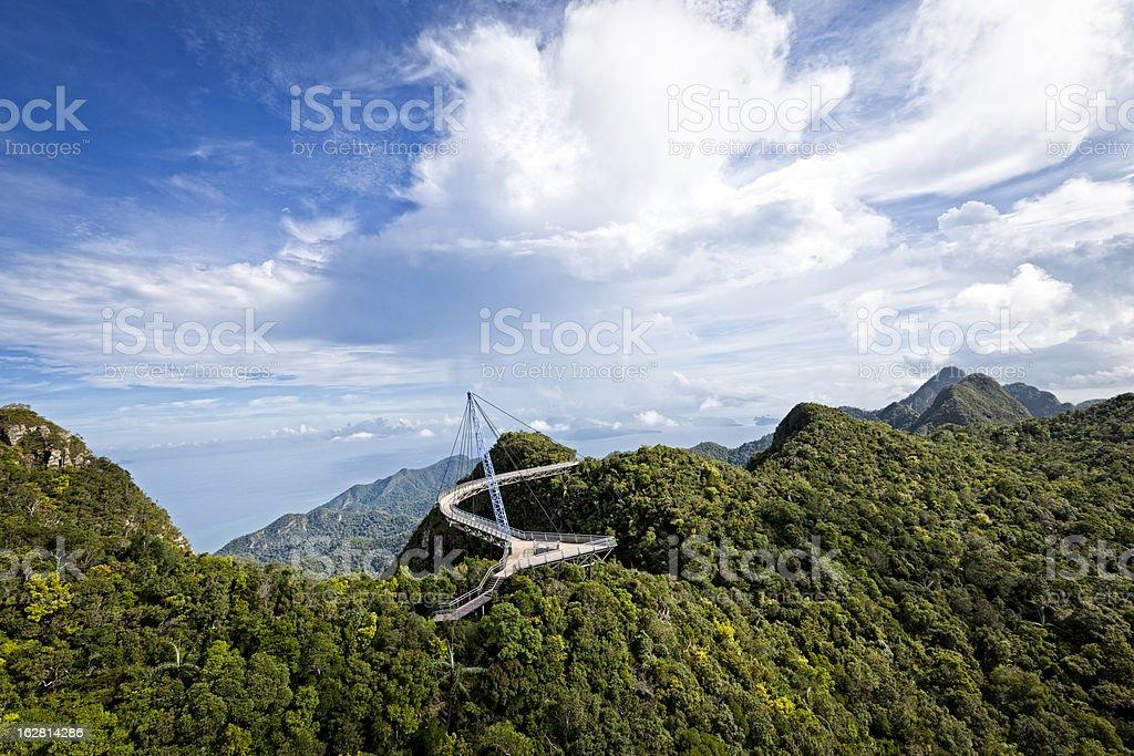 skybridge langkawi stock photo
