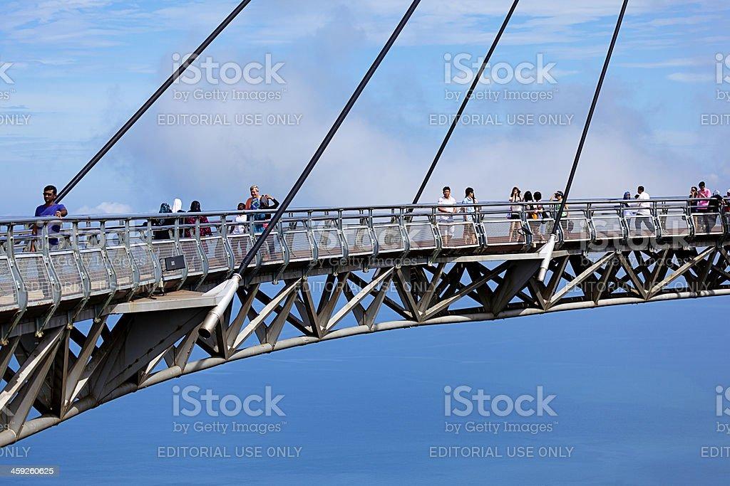 skybridge scenic view stock photo