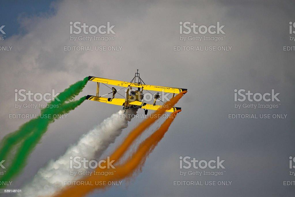 SkyCats at Aero India 2015 stock photo