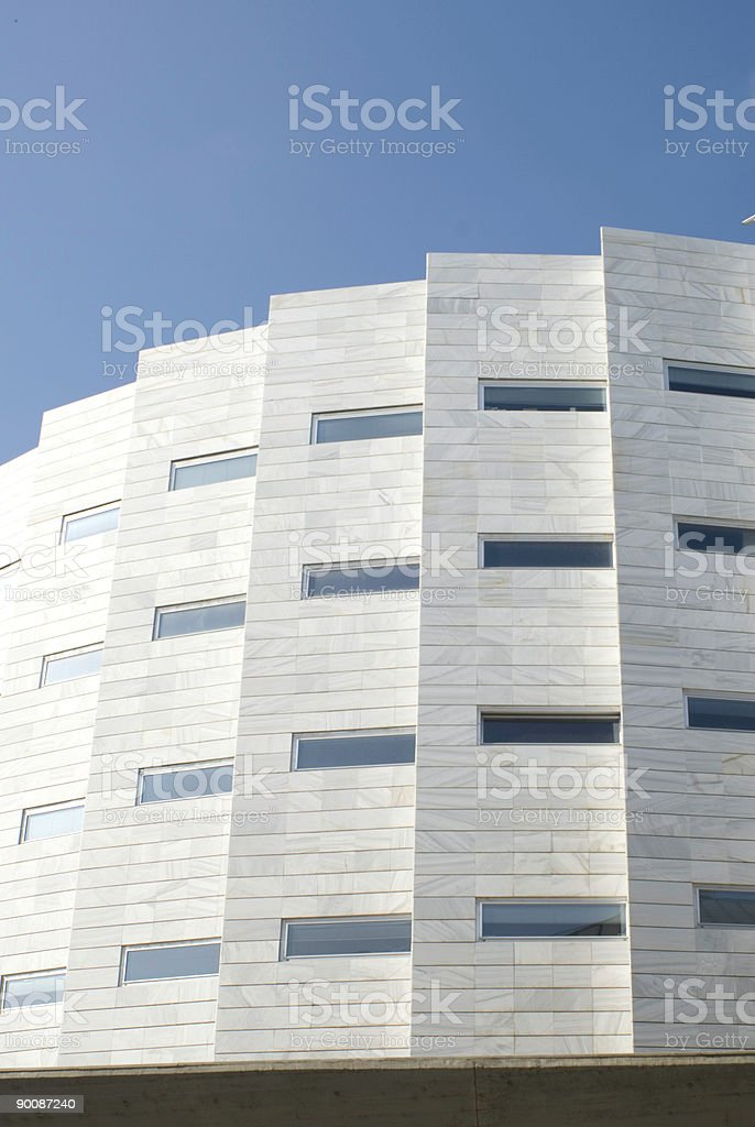 skycraper in Lleida royalty-free stock photo