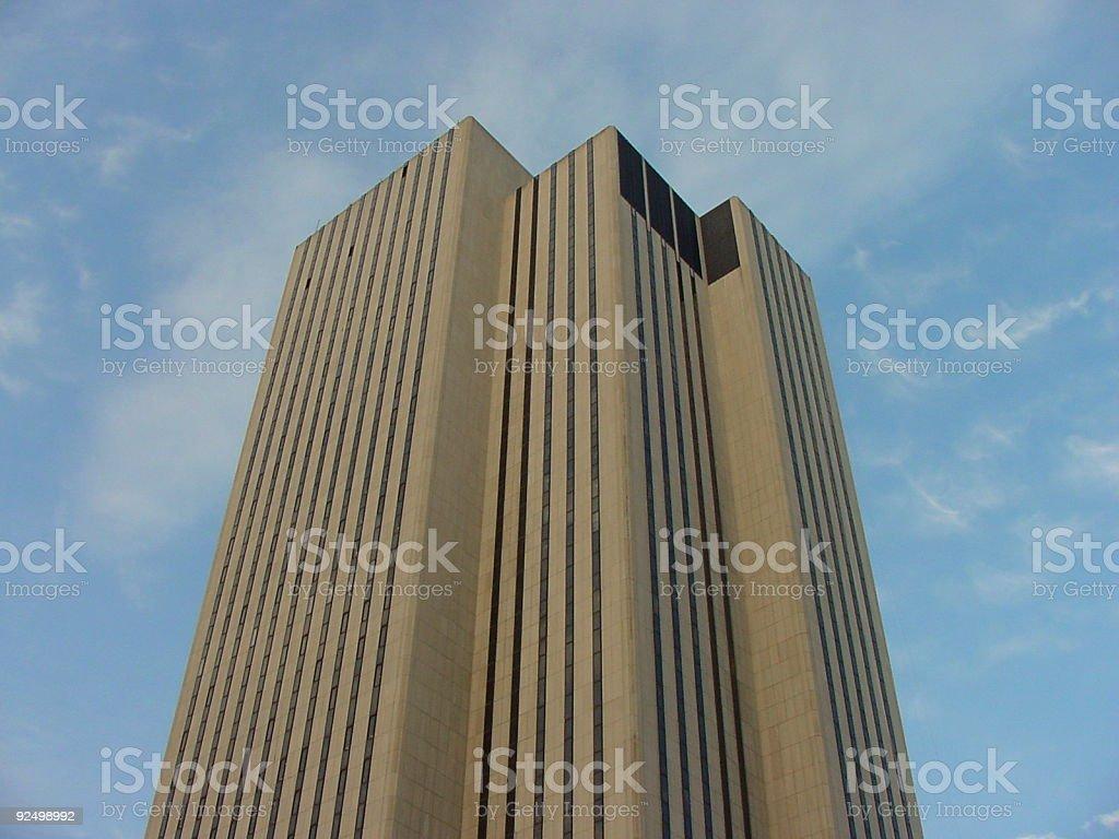 Skycraper  in New York City royalty-free stock photo