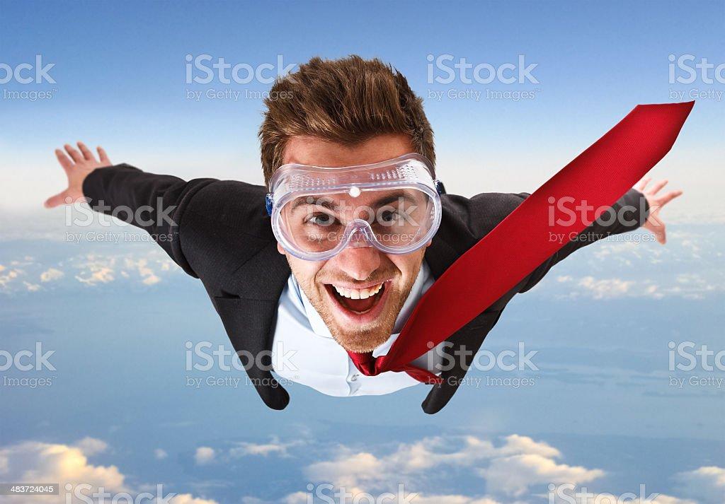 Skydive royalty-free stock photo