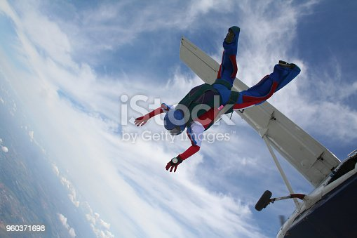 Skydiving classic photo