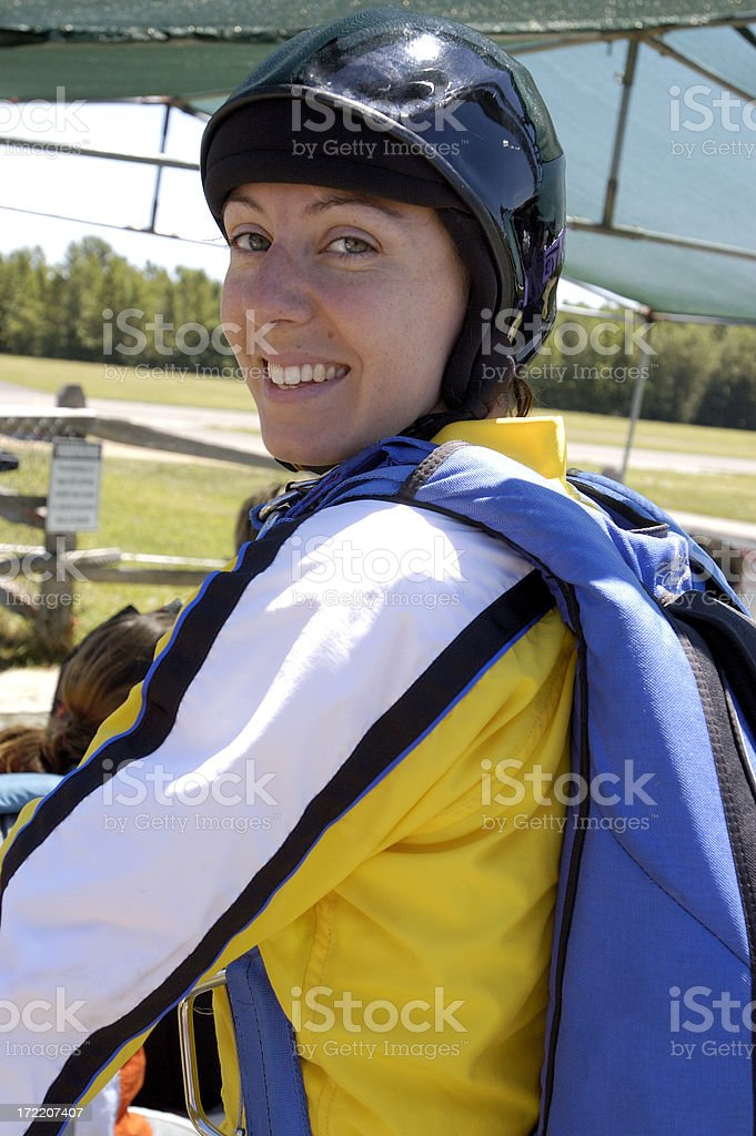 skydiver royalty-free stock photo