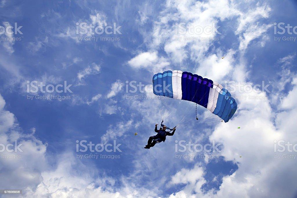 Skydivers - foto de stock