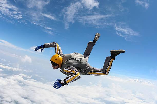 skydiving photo. - fallskärm bildbanksfoton och bilder