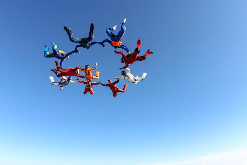 Fallschirmspringen Foto Stockfoto und mehr Bilder von 2015