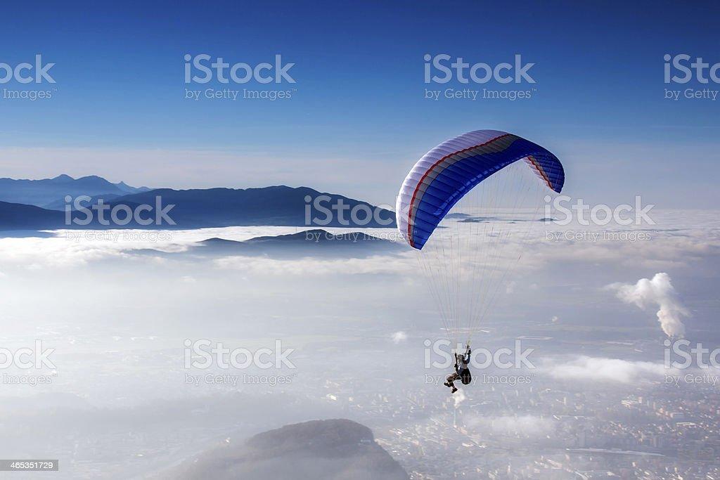 skydiving - foto de stock