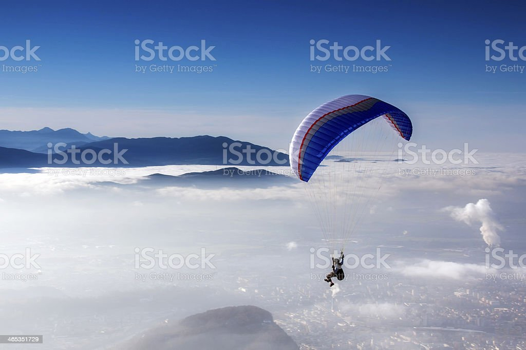 skydiving (queda livre) - foto de acervo