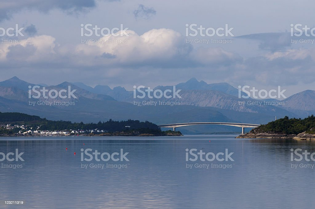 Skye Bridge stock photo