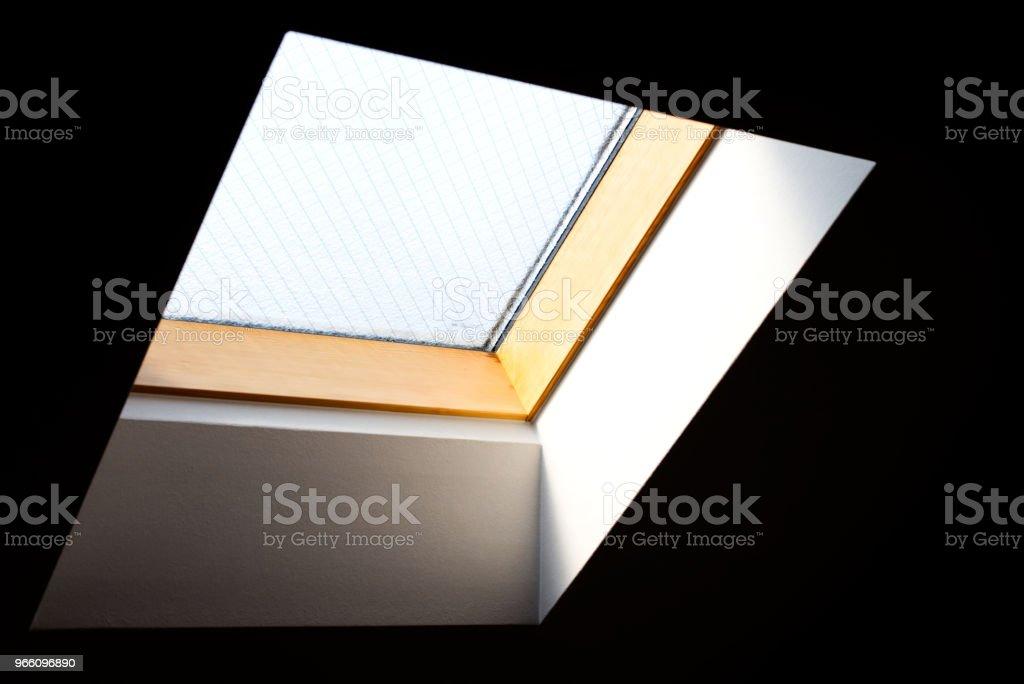 Skylight - Royaltyfri Abstrakt Bildbanksbilder