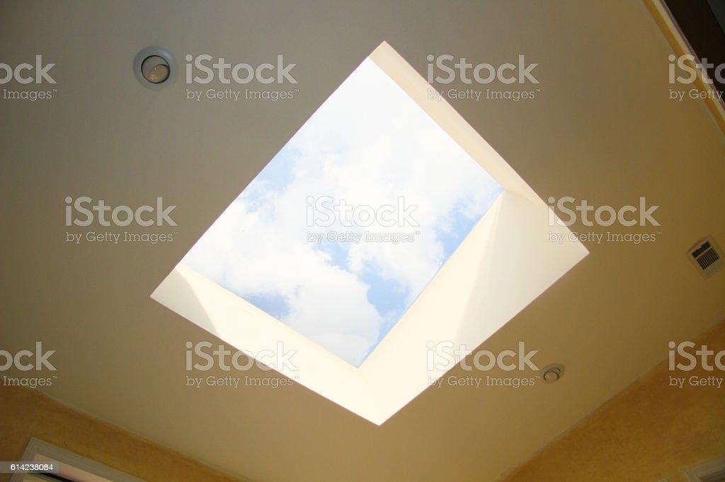 Skylight - Stock Image stock photo