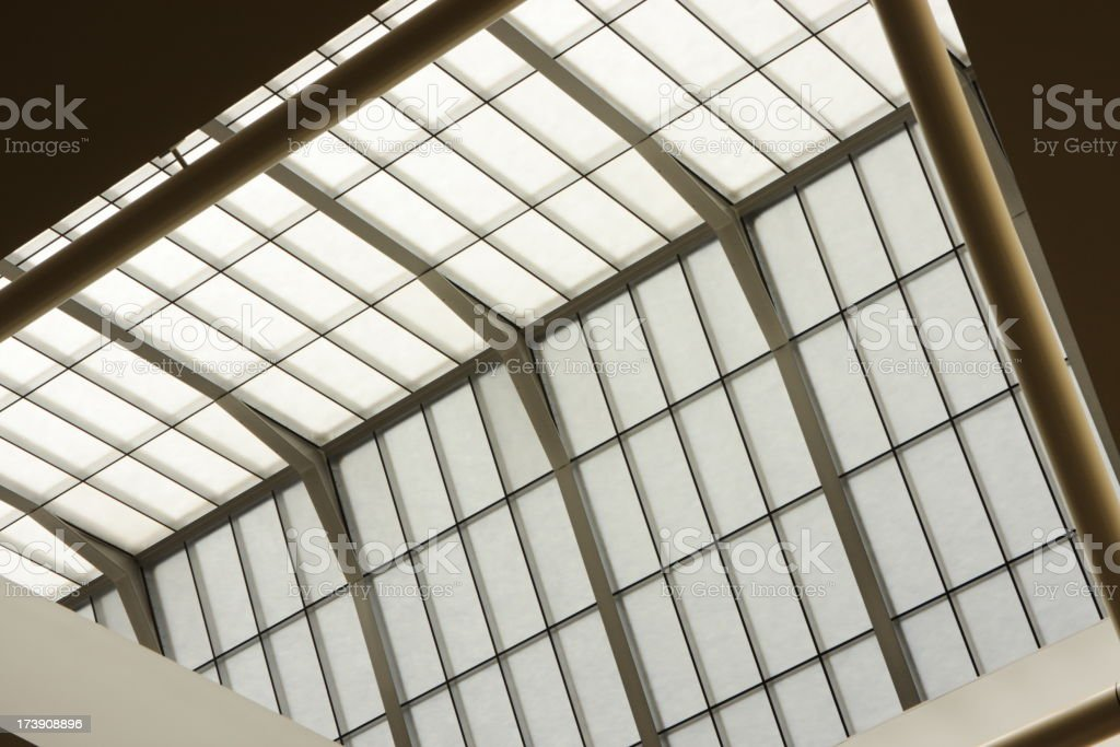 Skylight Window Ceiling Roof Architecture royalty-free stock photo