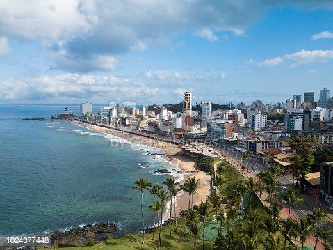 istock skyline aerial view of the city of Salvador Bahia 1024377448