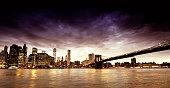 Skyline and Freedom Tower, Lower Manhattan, NYC.