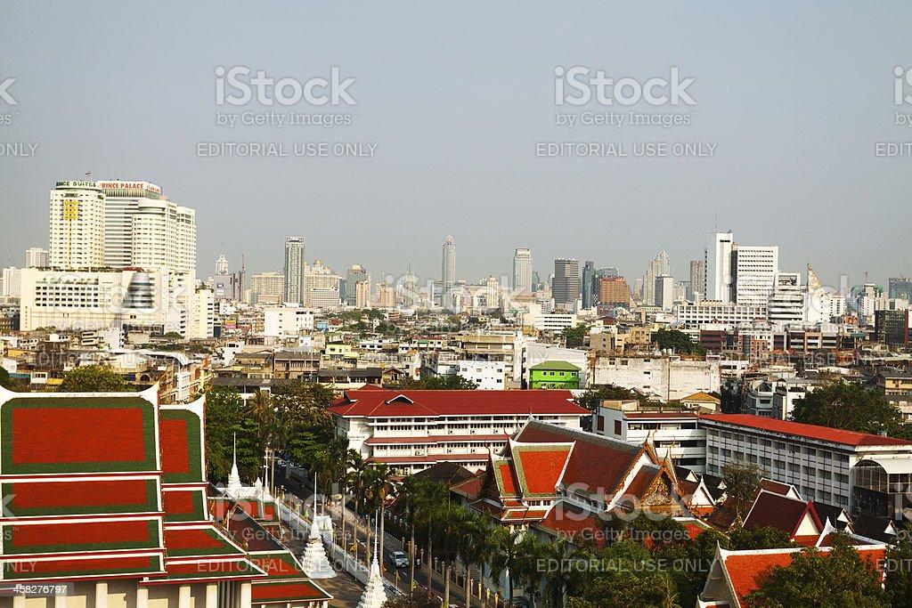 Skyline Bangkok's royalty-free stock photo