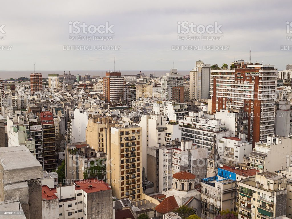 Skyline Buenos Aires Argentina royalty-free stock photo