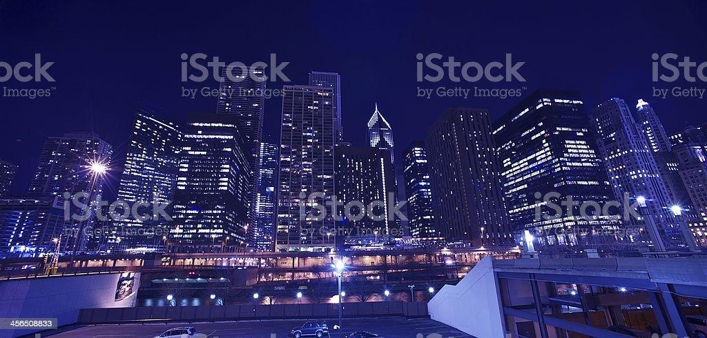 Skyline Chicago Cityscape stock photo
