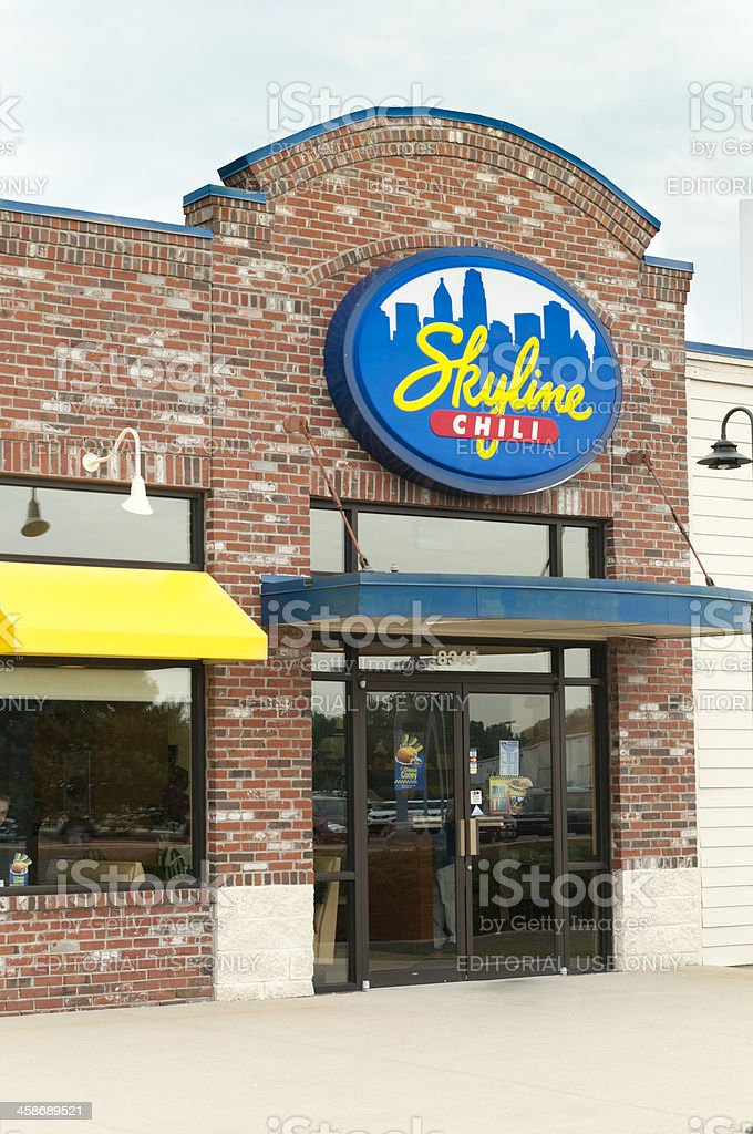 Skyline Chili Store Front stock photo