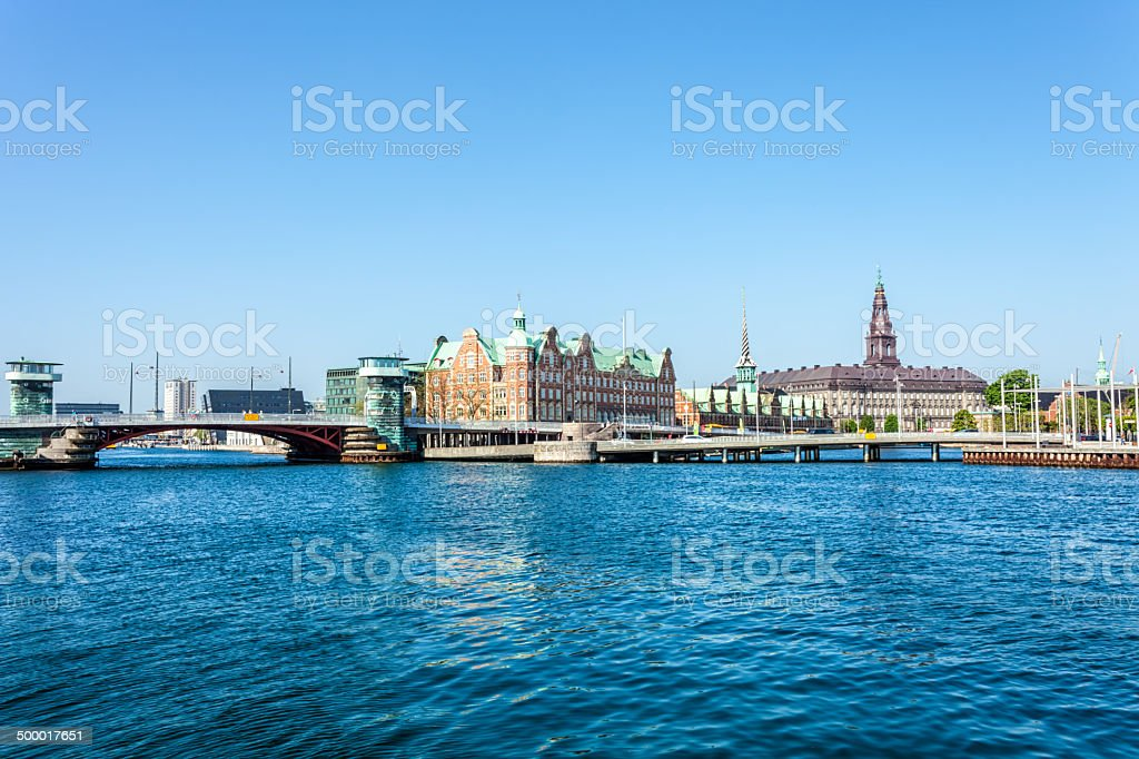 Skyline Copenhagen stock photo